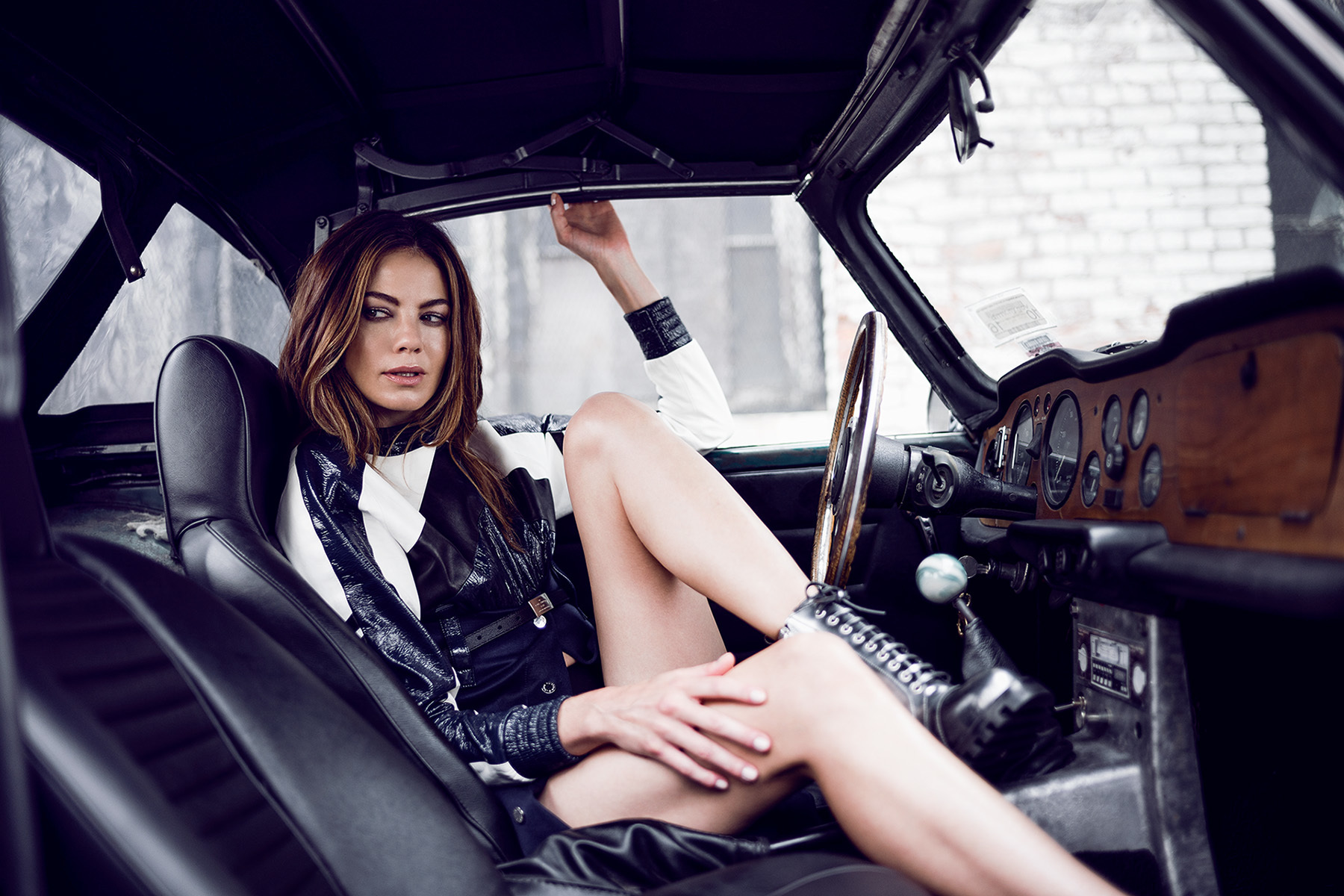 Michelle Monaghan For Gq Germany Robert Wunsch